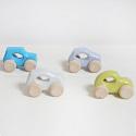 Houten speelgoedauto's