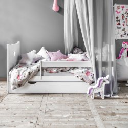 Juniorbed «Nuit» | Wit 160x70