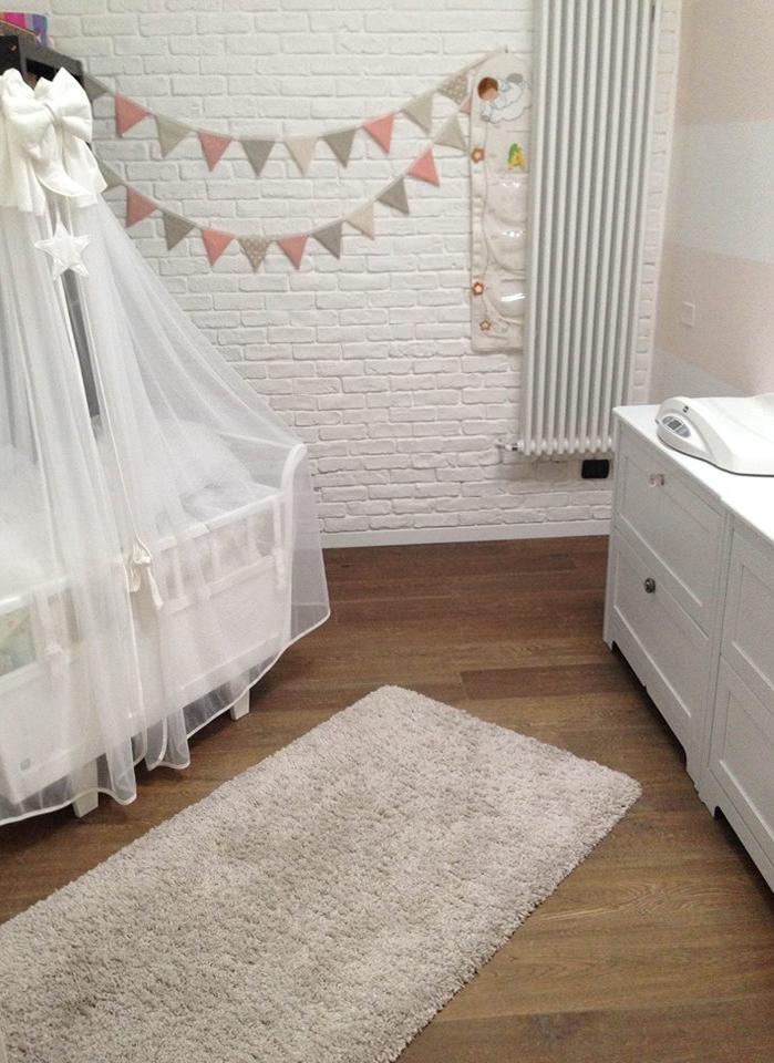 Wiegje Louis op een babykamer in Milaan | Italie
