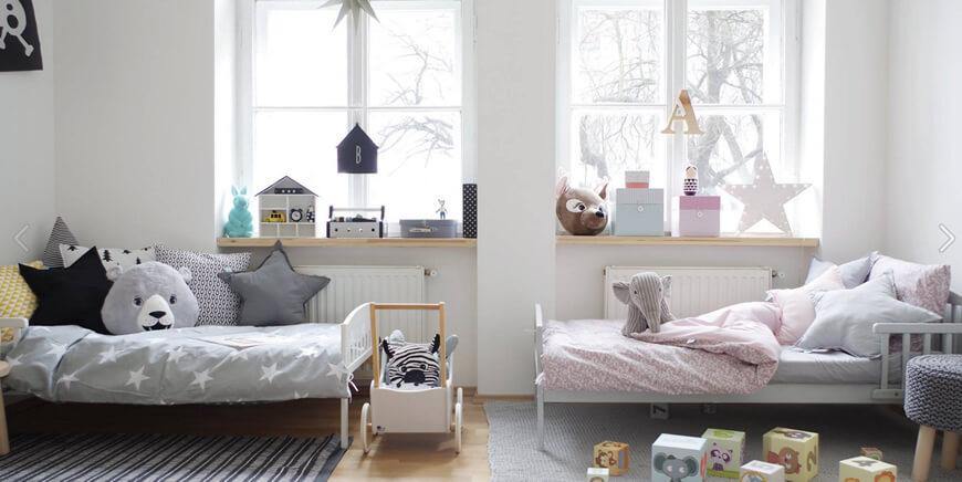 Kinderkamer delen inspiratie tips voor het inrichten van de slaapkamer - Stapelbed kleine kamer ...