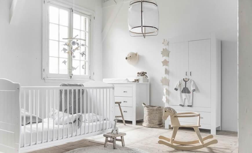 Een sneak preview van onze nieuwe babykamer collectie
