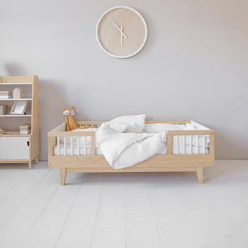 Peuterbed Cerise | Naturel houten kinderbed voor peuters