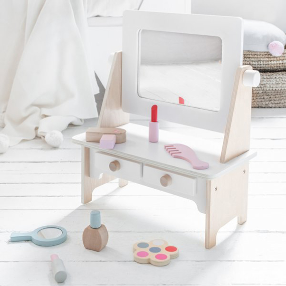wooden dressing table / make-up table