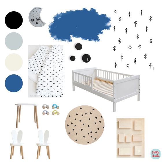 huisjesbed-maison-unisex-peuterkamer-kinderkamer-jongen-meisje-blauw