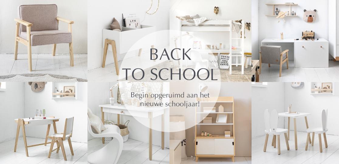 Begin opgeruimd aan het nieuwe schooljaarr