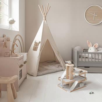 Trendy kinderkamers van Petite Amélie, meubels, accessoires & speelgoed