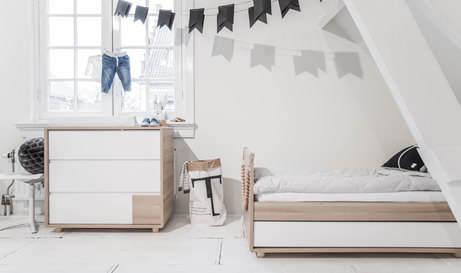 Petite am lie voor kinder en babykamer for Chambre 8m2 amenagee